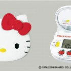 Hello-Kitty-Clock